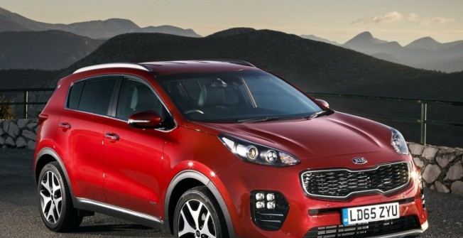 Kia Sportage Lease in Aberedw